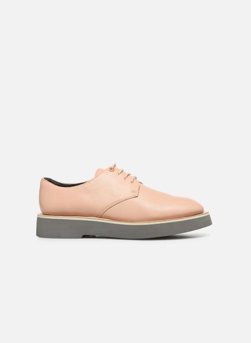 Zapatos con cordones Camper Tyra K200734 Beige vistra trasera