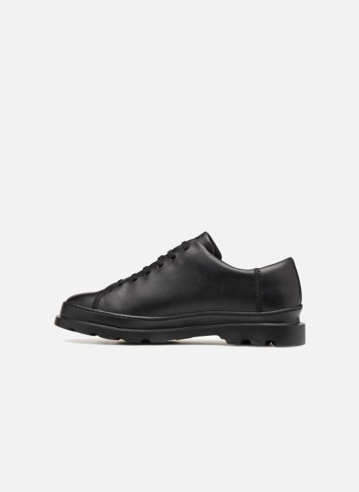 Zapatos con cordones Camper Brutus K100245 Negro vista de frente