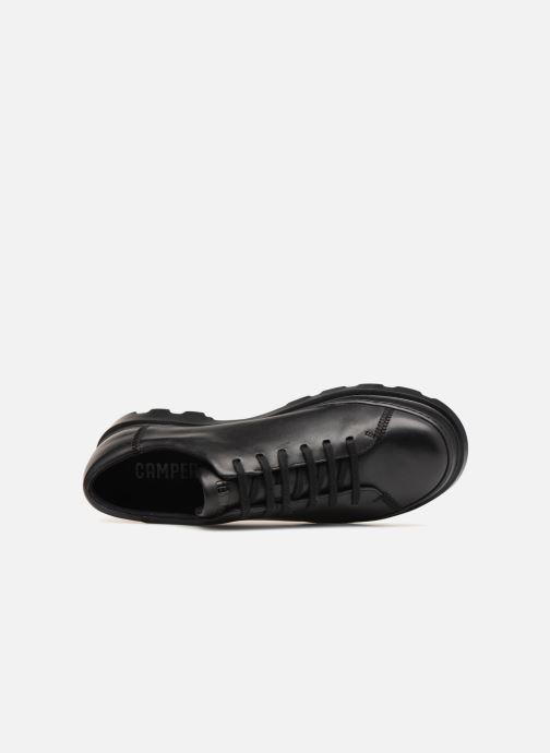 Zapatos con cordones Camper Brutus K100245 Negro vista lateral izquierda