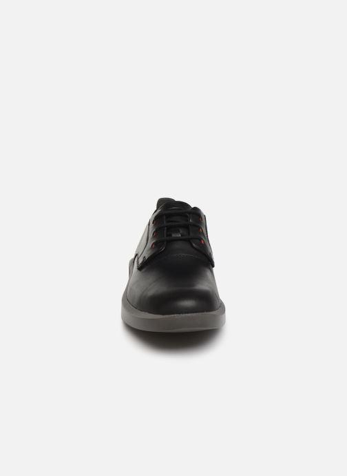 Snörade skor Camper Bill K100356 Svart bild av skorna på