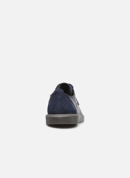 Zapatos con cordones Camper Bill K100356 Azul vista lateral derecha