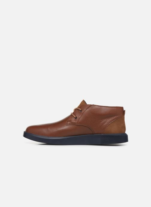 Lace-up shoes Camper Bill K300235 Brown front view