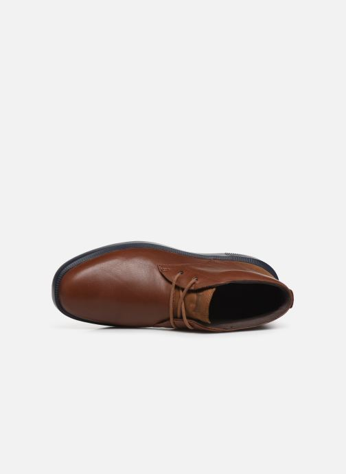 Zapatos con cordones Camper Bill K300235 Marrón vista lateral izquierda
