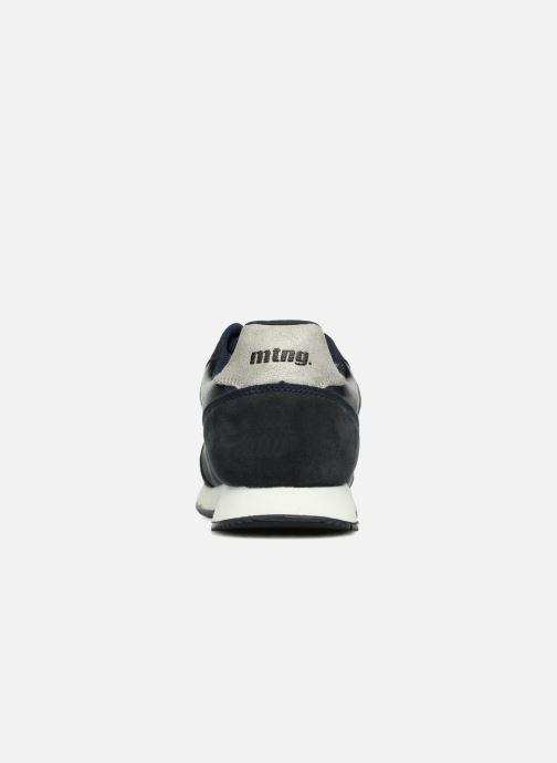 Baskets MTNG 69128 Bleu vue droite