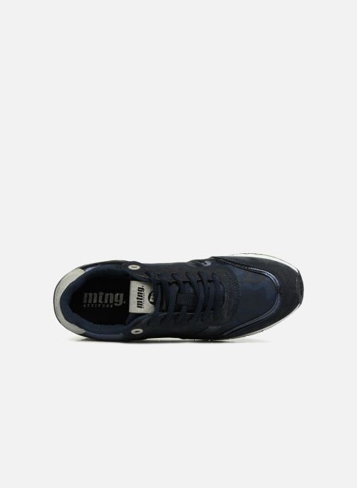 Baskets MTNG 69128 Bleu vue gauche