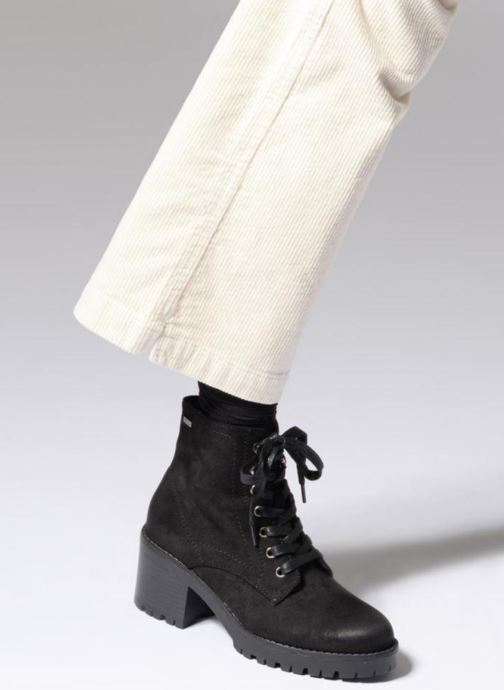 Ankle boots MTNG 57511 Black view from underneath / model view