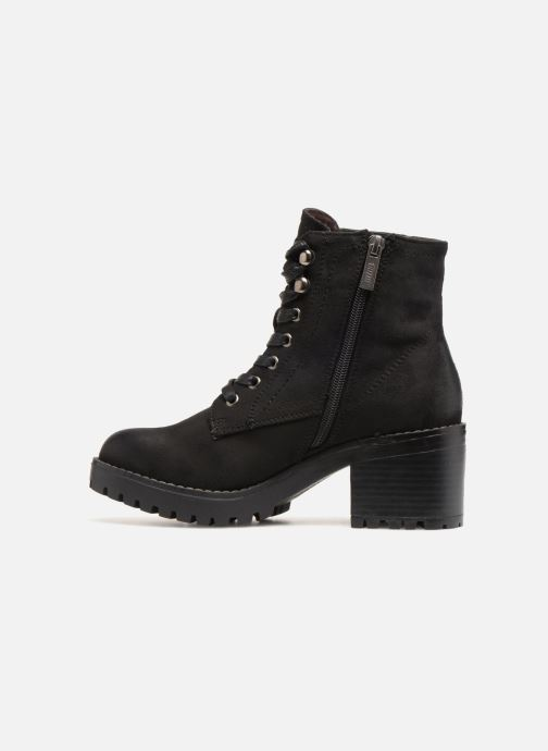Ankle boots MTNG 57511 Black front view