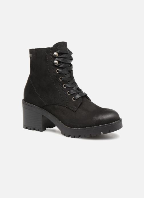 Ankle boots MTNG 57511 Black detailed view/ Pair view