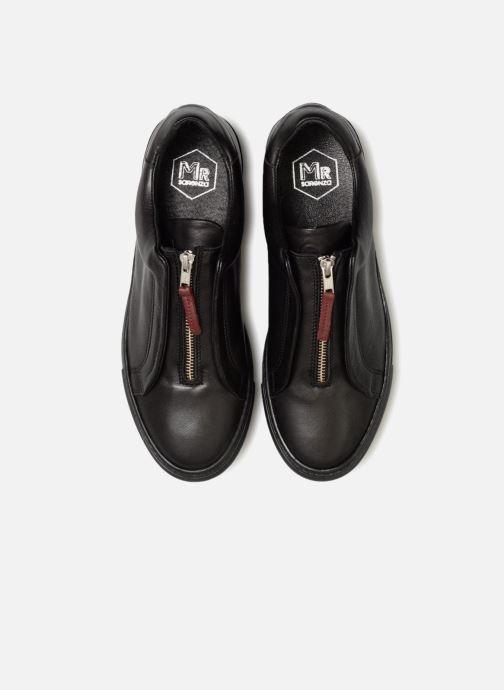 Baskets Mr SARENZA Norino Noir vue portées chaussures