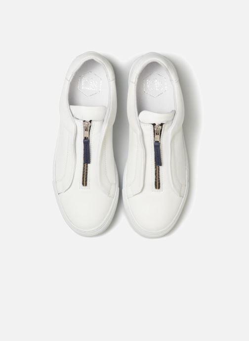 Baskets Mr SARENZA Norino Blanc vue portées chaussures