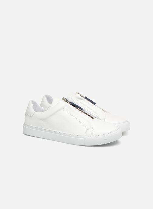 Sneaker Mr SARENZA Norino weiß ansicht von hinten