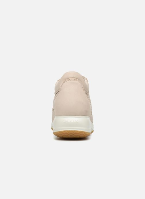 Sneakers Geox D HAPPY A D4258A Beige immagine destra