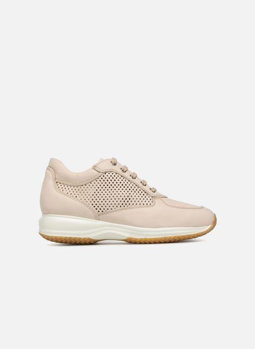 Sneaker Geox D HAPPY A D4258A beige ansicht von hinten
