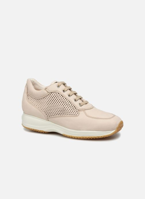 Sneaker Geox D HAPPY A D4258A beige detaillierte ansicht/modell