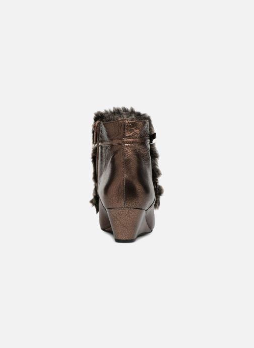 Bottines et boots Geox D JAUNIE D641RA Marron vue droite