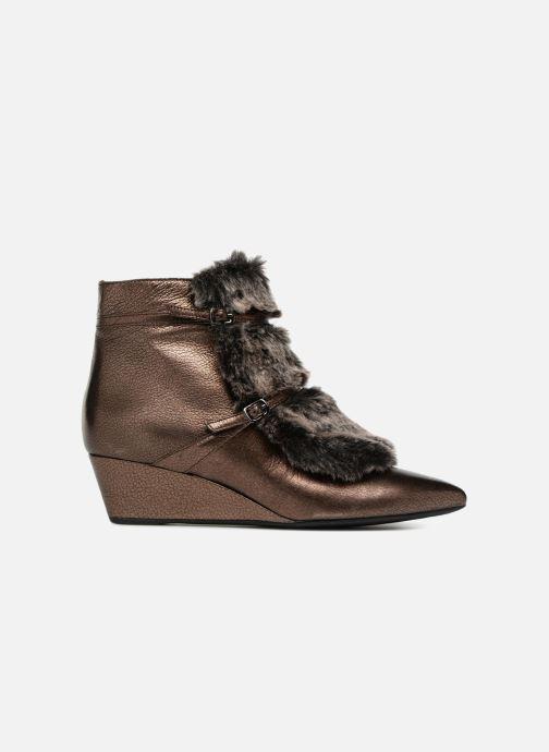 Bottines et boots Geox D JAUNIE D641RA Marron vue derrière