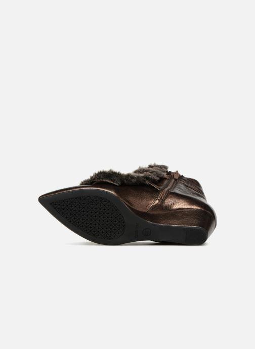 Bottines et boots Geox D JAUNIE D641RA Marron vue haut