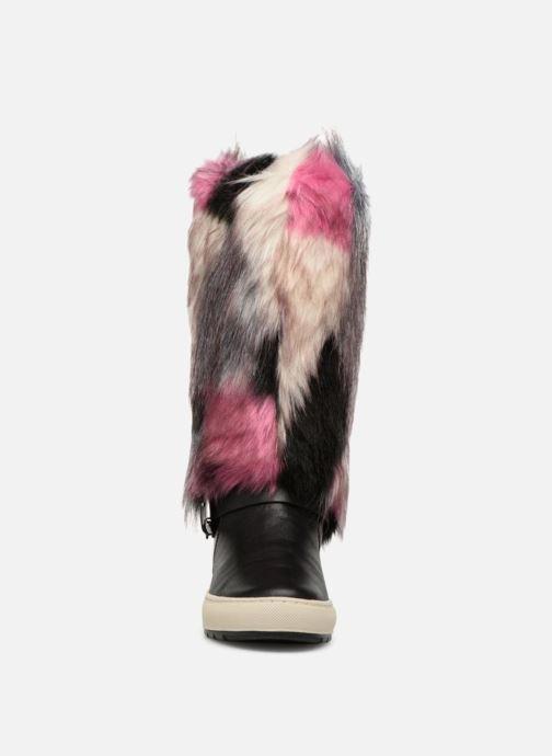 Boots & wellies Geox D BREEDA F D642QF Pink model view