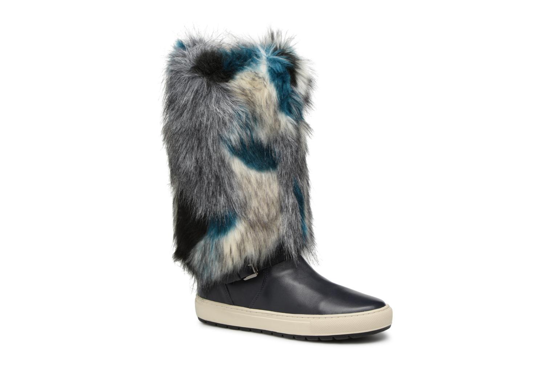 Geox D BREEDA F D642QF (Bleu) - Bottes en Más cómodo Chaussures femme pas cher homme et femme