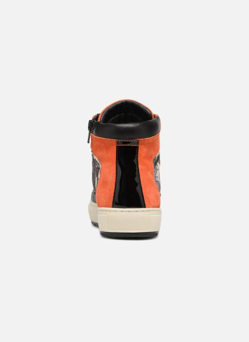 Baskets Geox D BREEDA L D642QL Noir vue droite
