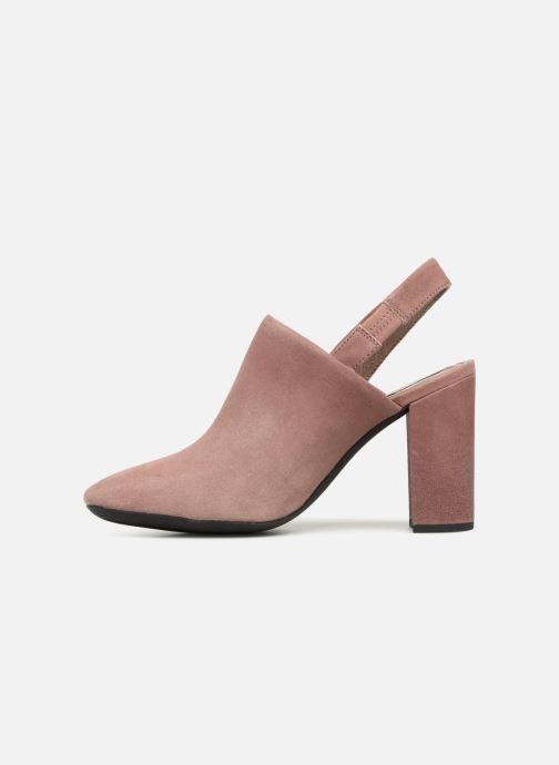 High heels Geox D N.SYMPHO D642VA Pink front view