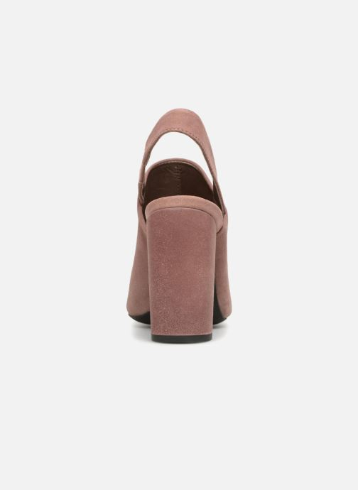 High heels Geox D N.SYMPHO D642VA Pink view from the right