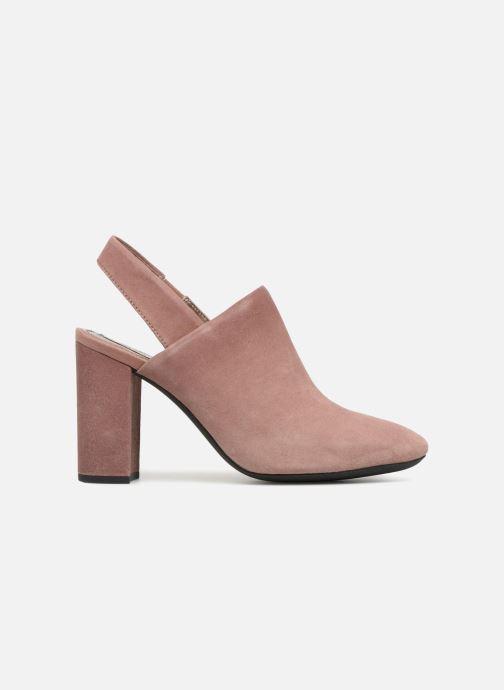 High heels Geox D N.SYMPHO D642VA Pink back view