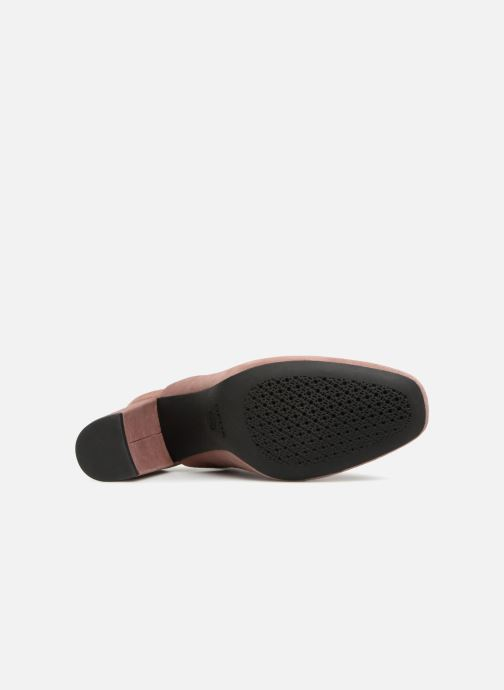 High heels Geox D N.SYMPHO D642VA Pink view from above