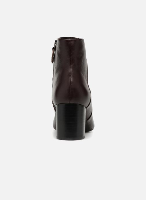 Boots en enkellaarsjes Geox D N.SYMPHO D642WA Bordeaux rechts