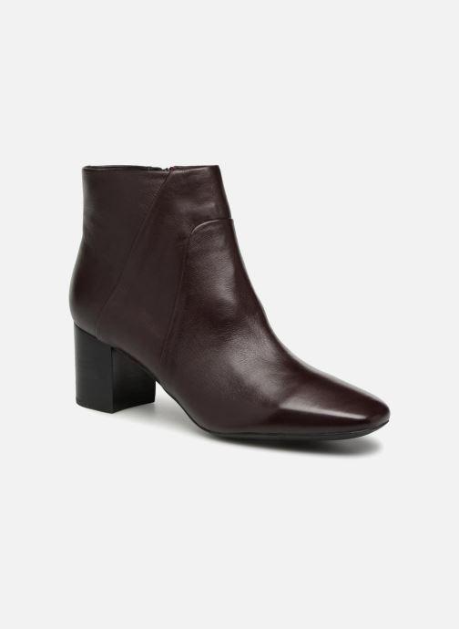 Bottines et boots Geox D N.SYMPHO D642WA Bordeaux vue détail/paire