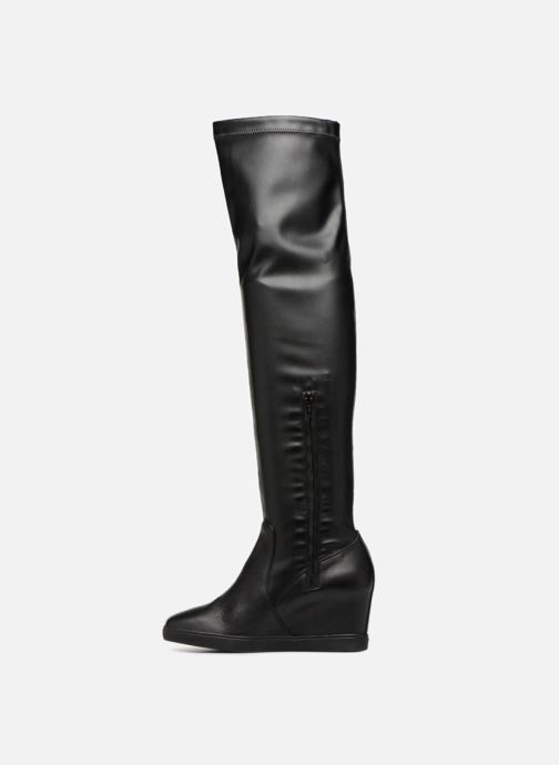 Boots & wellies Geox D ELENI A D6467A Black front view