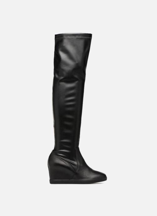 Boots & wellies Geox D ELENI A D6467A Black back view