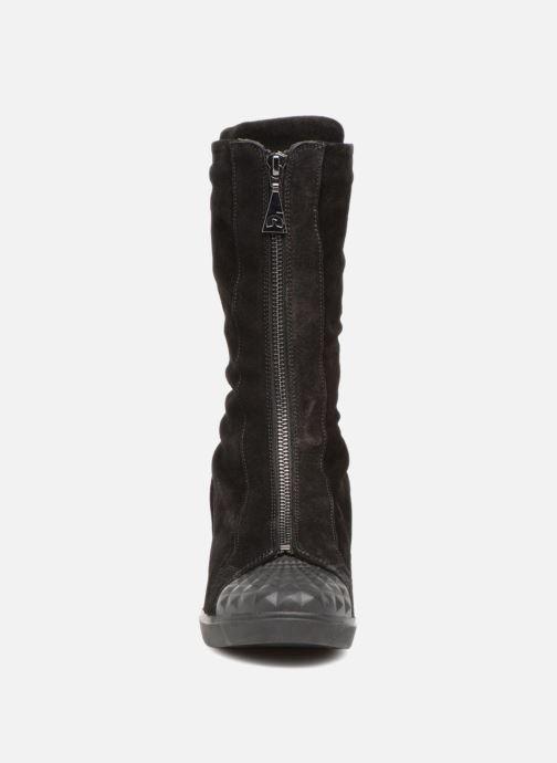 Bottines et boots Geox D ELENI B D6467B Noir vue portées chaussures