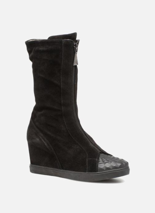 Bottines et boots Geox D ELENI B D6467B Noir vue détail/paire