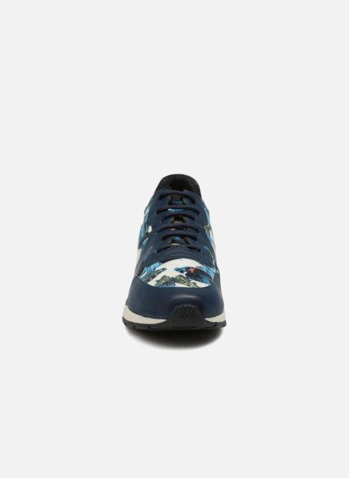 Baskets Geox D SHAHIRA B D64N1B Bleu vue portées chaussures