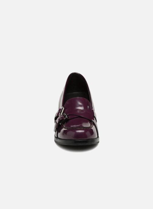 Mocassins Geox D SCHOOL A D64S4A Violet vue portées chaussures
