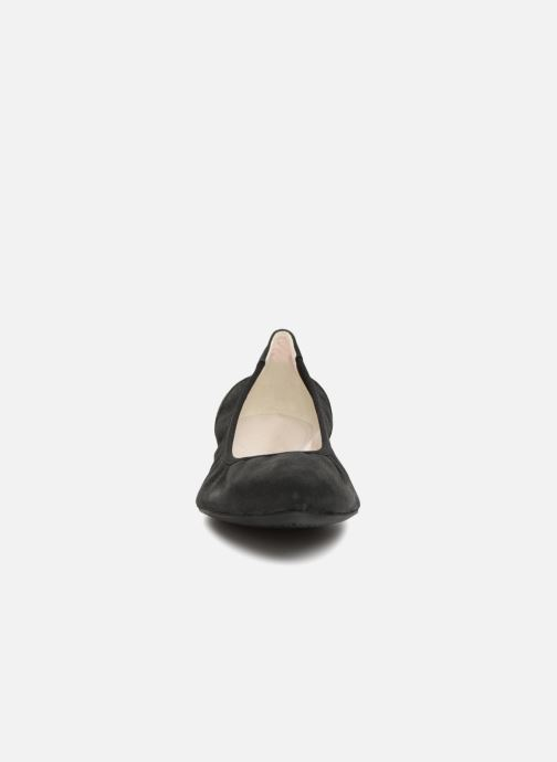 Ballerines Geox D RHOSYN B D720FB Noir vue portées chaussures