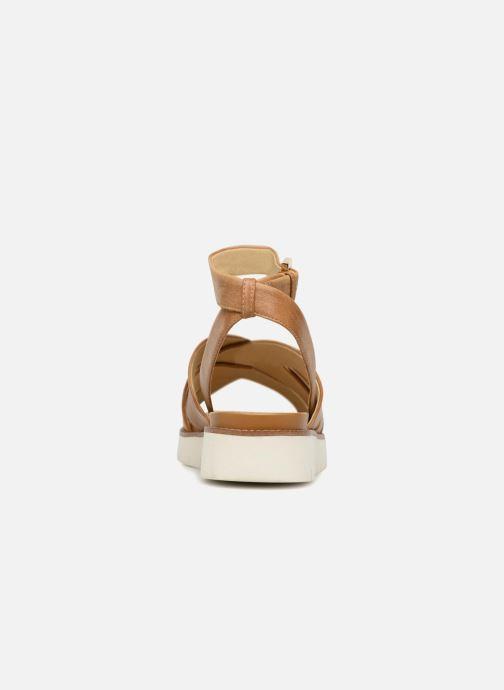 Sandali e scarpe aperte Geox D DARLINE B D721YB Marrone immagine destra