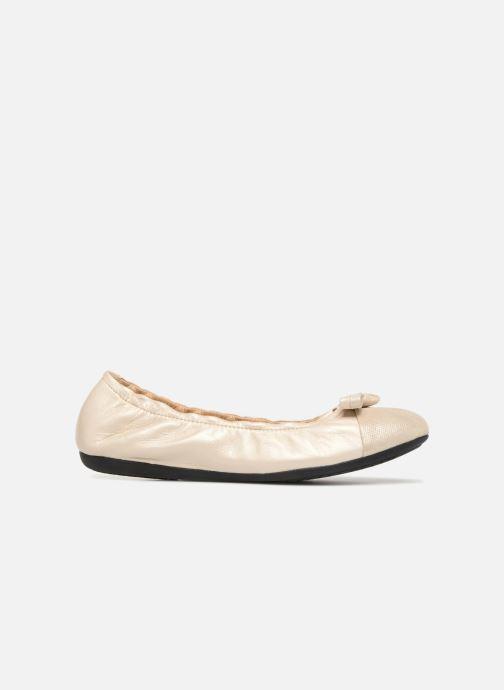 Ballerina's Geox D LOLA 2FIT A D723DA 2 Goud en brons achterkant