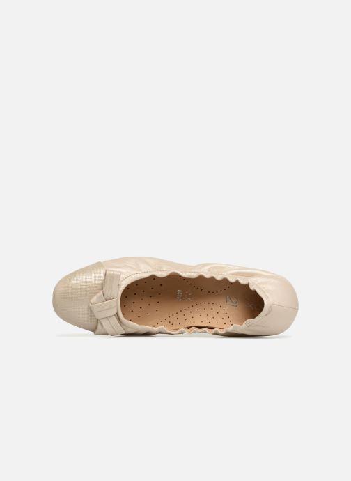 Ballerina's Geox D LOLA 2FIT A D723DA 2 Goud en brons links