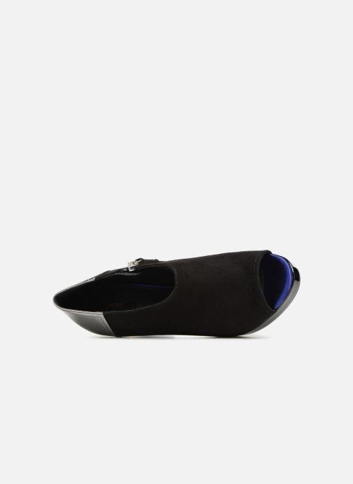 Bottines et boots Geox D MAUVELLE D724LB Noir vue gauche
