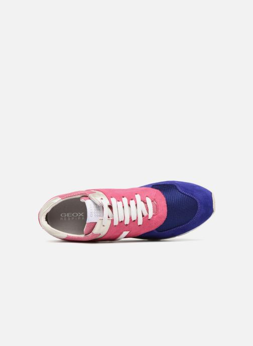Sneakers Geox D SHAHIRA D72N1A Rosa immagine sinistra