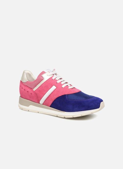 Sneaker Geox D SHAHIRA D72N1A rosa detaillierte ansicht/modell