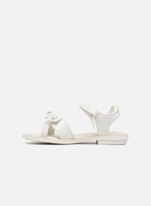 Sandales et nu-pieds Geox J S.GIGLIO B J62E2B Blanc vue face