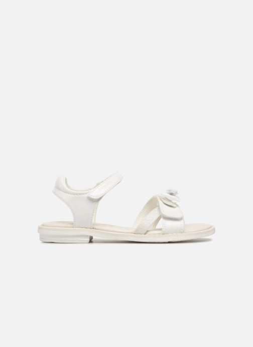 Sandales et nu-pieds Geox J S.GIGLIO B J62E2B Blanc vue derrière