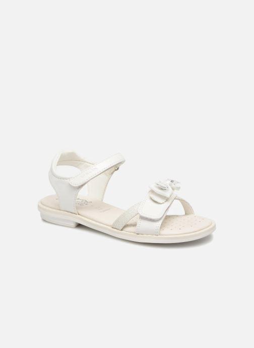 Sandales et nu-pieds Geox J S.GIGLIO B J62E2B Blanc vue détail/paire