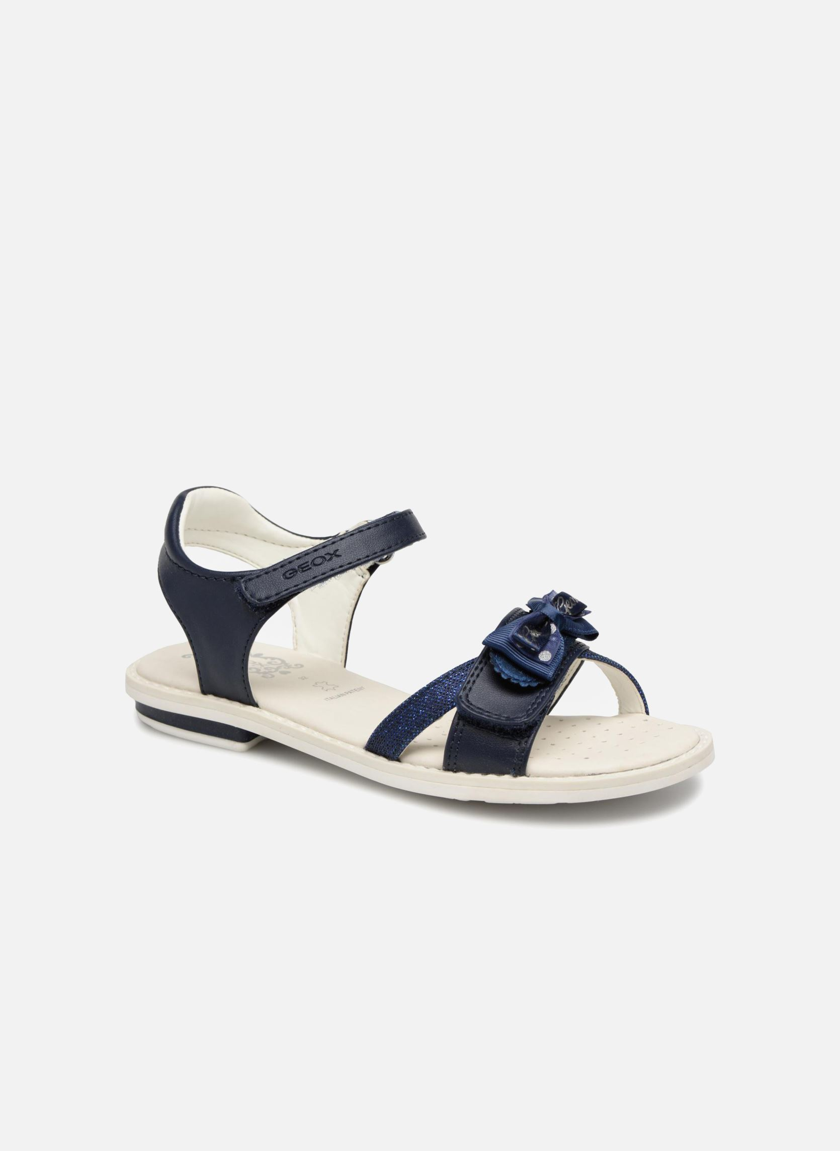 Geox C0749 J Gray Jay Boy Nero Drenge Sneakers Drenge Mode 8xosn