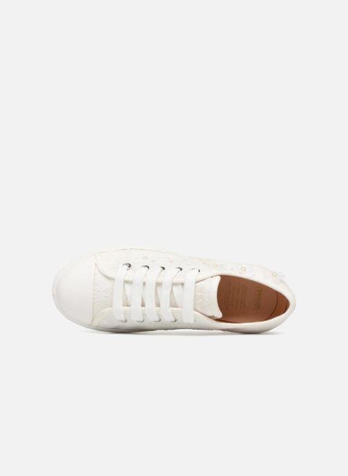 Sneakers Geox J CIAK G. F J7204F Wit links
