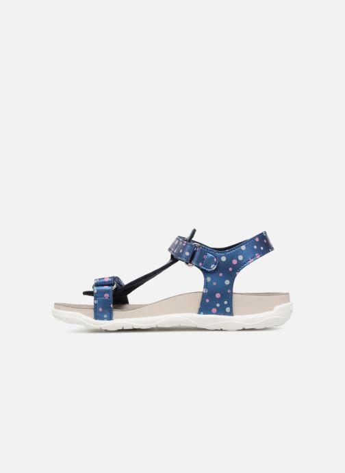 Sandales et nu-pieds Geox J S.ALOHA B J7214B Bleu vue face