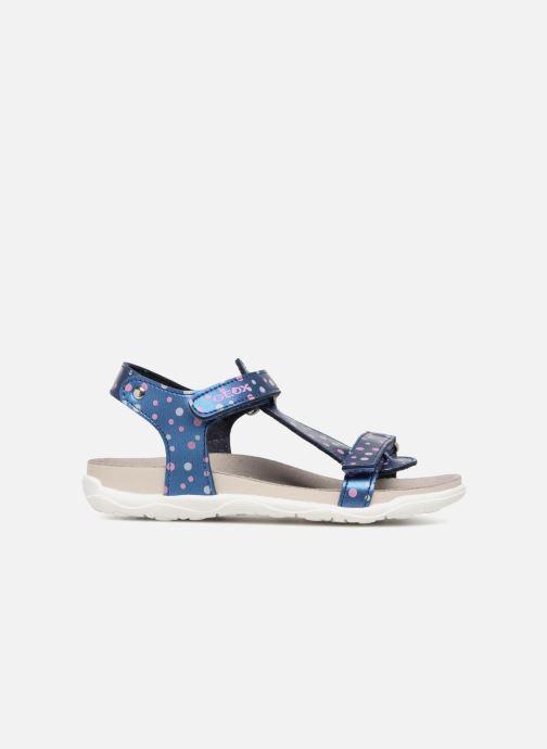 Sandales et nu-pieds Geox J S.ALOHA B J7214B Bleu vue derrière